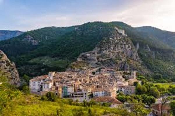 Alpes de Hautes Provence-Entrevaux